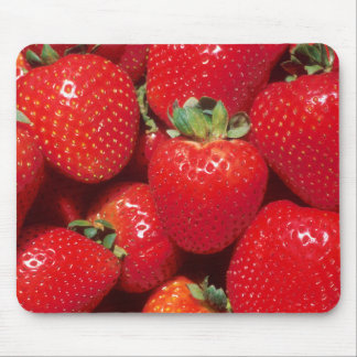 Garden Strawberries Mouse Pad