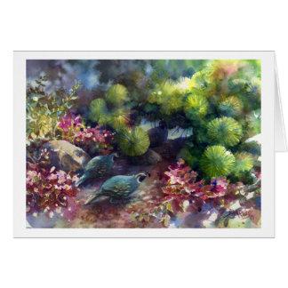Garden Stroll Card