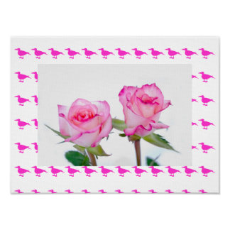 Garden Summer Elegant Chic Destiny Blossoms Poster