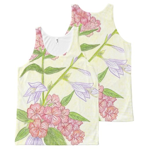 Garden Tank Top All-Over Print Tank Top