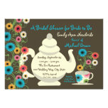 Garden Tea Party Bridal Shower and recipe cards