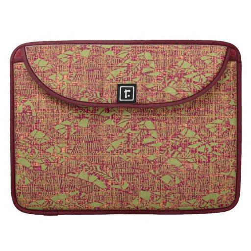 Garden Textures Laptop Folder/Sleeve Sleeve For MacBooks