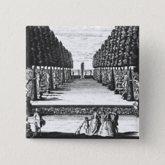 Garden Theatre at Herrenhausen, engraved by Joost Button