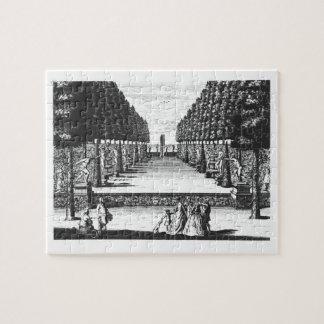 Garden Theatre at Herrenhausen, engraved by Joost Jigsaw Puzzle