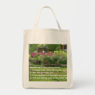Garden Therapy Re-usable Grocery Tote