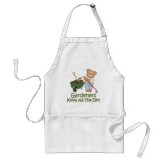 Garden Tips #1 - Know Dirt Adult Apron