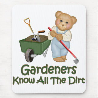 Garden Tips 1 - Know Dirt Mouse Pad