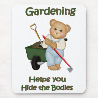 Garden Tips #2 - Hide Bodies Mouse Pads