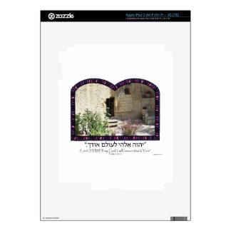 Garden Tomb iPad 3 Decals