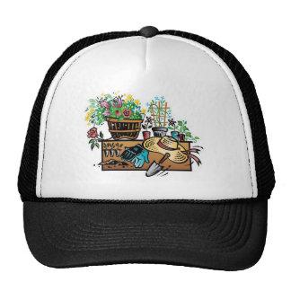 Garden tools design trucker hat