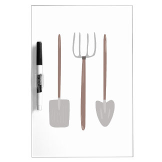 Garden Tools Dry-Erase Whiteboards