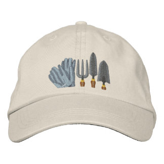 Garden Tools Embroidered Hat