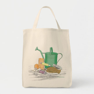 Garden Tools Garden Art Tote Bag