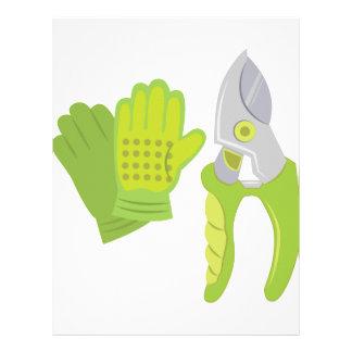 Garden Tools Letterhead