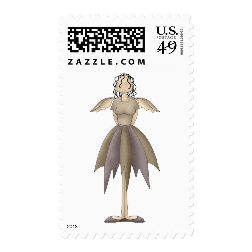 Garden Treasures · Angel Postage Stamp
