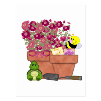 Garden Treasures Postcard