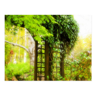 Garden Trellis Postcard