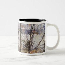 Garden under Snow, 1879 Two-Tone Coffee Mug