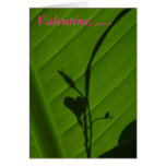 Garden Valentine Card