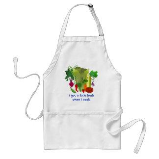 Garden Veggies Funny Custom  Apron