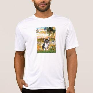 Garden (VG) - Welsh Corgi (tri Pembroke pup) Tshirts