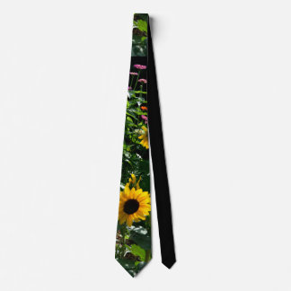 Garden view neck tie