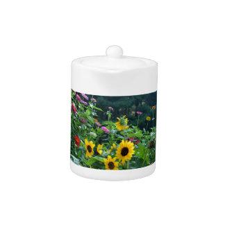 Garden View Teapot