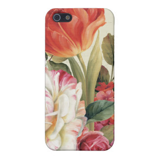 Garden View Tossed Flowers Cover For iPhone SE/5/5s