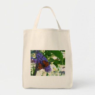 Garden Visitor Grocery Tote Bag