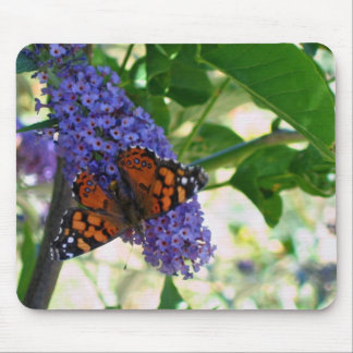 Garden Visitor Mouse Pad