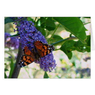 Garden Visitor Stationery Note Card