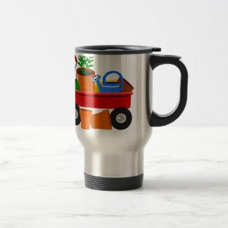 Garden wagon travel mug