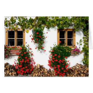 Garden Wall Note Card, envelopes included Card