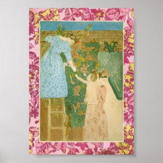 Garden Wall Print