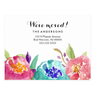 Garden Watercolor Postcard