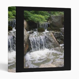 Garden Waterfall Binder