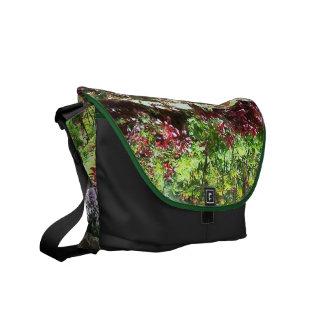 Garden Waterfall Messenger Bag