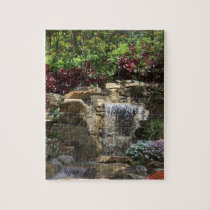 Garden Waterfall Puzzle