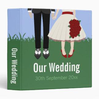 Garden Wedding, 1.5inch binder