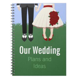 Garden Wedding, Notebook