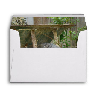 Garden Wheelbarrow Envelope