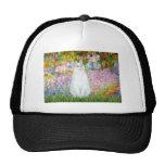Garden - White cat Trucker Hat