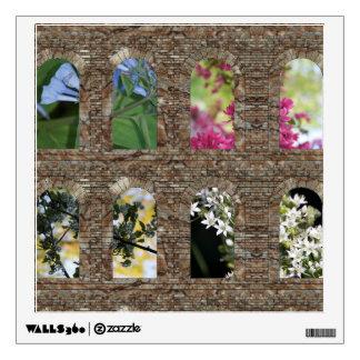 Garden Windows Wall Decal