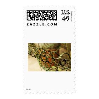 Garden Wire Basket Stamps