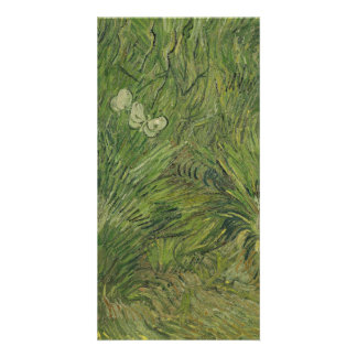 Garden with Butterflies by Vincent Van Gogh Card