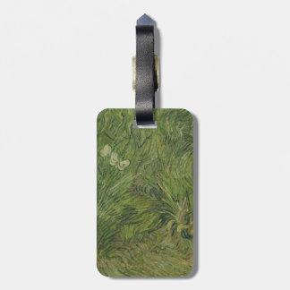 Garden with Butterflies by Vincent Van Gogh Luggage Tag
