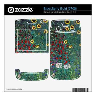 Garden with Crucifix 2 by Gustav Klimt Skins For BlackBerry