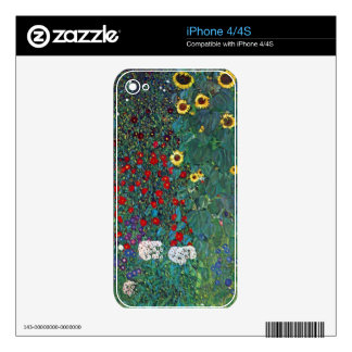 Garden with Crucifix 2 lg by Gustav Klimt Skins For iPhone 4S