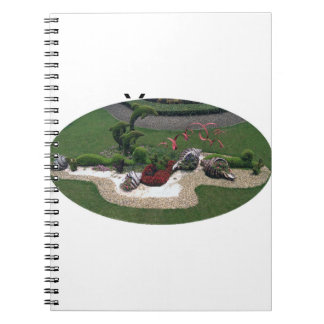 Garden with Dolphins Notebook