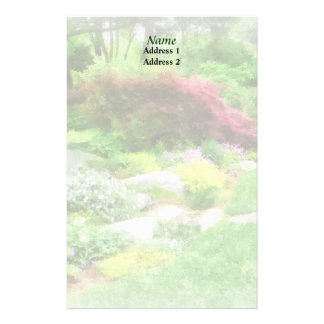 Garden With Japanese Maple Wedding Products Stationery